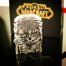 Hand-made Metal Silver Cigatettes Kerosene Lighter World Of Warcraft WOW The Lich King Arthas M