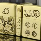 MJL wholesale lighter brand Genuine copper gold liner Naruto Sasuke family portrait BC1132