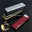 Fast Shipping Firedog Ultrathin Jet Flame Refillable Butane Gas Windproof Smoking Cigarette Lig