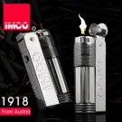 Genuine Austria IMCO 6700 steel gasoline lighter.Vintage black kerosene lighter,Classic men&#39