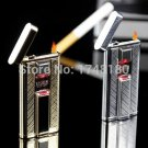 Tiger Creative Attractive Man enjoyed High Class Infrared Touch Sense Gas Lighter Inflatable wi
