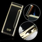 Tiger lighter windproof ultra-thin Gas Cigarette lighter for Men Male Father Daddy as Gift with