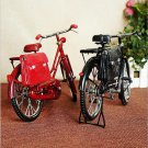 model inflatable lighter bike vintage postman bicycles model with briefcase creative crafts or