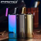 Brand PRIMO Ultra thin Arc Pulse Ligther Windproof Electric Arc Lighter Mini Novelty Cigarette