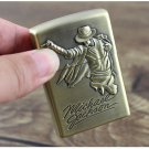 Fashion Kerosene Both Side Relief Michael Jackson Lighter Portable Pocket Cigarette Lighter BC1339