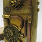 LW   Steam punk copper  army general gear  hand-made  kerosene oil  lighters BC1346