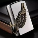 The original packing box cigarette lighter Black ice love love diamond heart fly BC1372