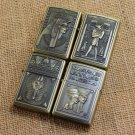 Bronze relief Egypt kerosene lighter, metal lighters, creative lighters, creative gift BC1405