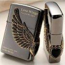 Free transportation Lighter wings of love wind, kerosene BC1418