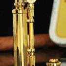 SMOKE Mr. copper retro vintage wheel wind gold cigarette lighter  ZPO BC1433