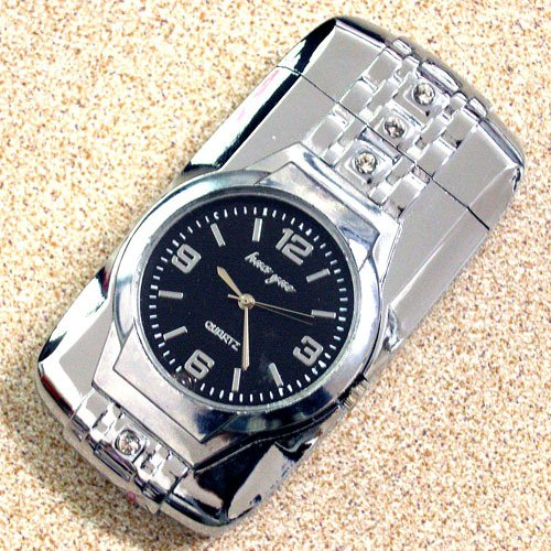 20167 Personalized metal lighters | Creative colorful lights really watch men's windproof l