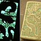 ZHY Noctilucent  lighters 0991J light dragon gold hollow creative high-grade lighter kerosene B