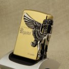 Pegasus Angel pure gold kerosene lighter,Gasoline lighter metal cigarette lighter. BC1464