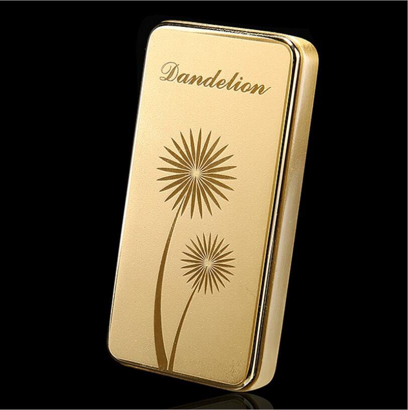 zincok switch lock safe on/off lighters 7.0*2.8*1.0CM sexy women love club gold color smokers g