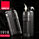 Genuine Austria IMCO brand steel oil lighter.Black kerosene lighter,retro Gasoline lighter 6600