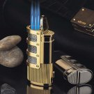 Triple Torch Flame Windproof Refillable Butane Gas Cigarette Cigar Lighter BC1573