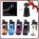 Jobon Colorful Jet Blue Flame With Lock Button Butane Gas Cigarette Cigar Torch Lighter BC1702