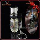 Firebird Fashion Mini Coffee Maker Style With Key Chain Cigar Cigarette Butane Gas Jet Blue Fla