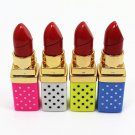 Lipstick Lighter Creative Realistic Flame Women Gas Lighters s BC1749