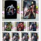 Metal kerosene lighter personality creative lighters movie blockbuster Avenger Union 2 series B