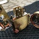gearwheel Handmade Clockwork run 42 hours original steampunk copper kerosene mechanical watch (