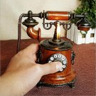 vintage telephone with cigarette lighter model  creative handcrafts decoration adornments home