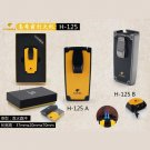 Arrived COHIBA  Alloy 2 Torch Jet Flame Cigar Lighter With Punch Butane Gas Cigarette Lighters