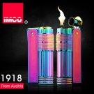 Genuine Austria IMCO brand steel oil lighter.fashion blue kerosene lighter,men's cigarette