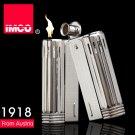 Genuine Austria IMCO brand steel oil lighter.Vintage black kerosene lighter,men's cigarette