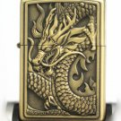 10pcs/lot  Boutique Dragon universal pattern designs wind-proof oil lighter BC2041