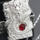 wholesale only shell :160g S925 pure silver lighter Hand-carved  genuine original dragon lighte