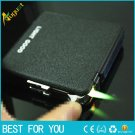 1pc  Hot Sale  automatic cigarette case with wind proof Butane lighters stainless for gift Toba