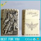 10pcs/lot 2016 hot sell LOL creative hero alliance oil lighter kerosene lighter bronze relief d