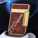 S.T Memorial D upont lighter Bright Sound!  In Box Serial number TH5 BC2309