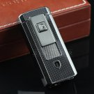 COHIBA Gadgets Cigarette Lighter Built-in Cigar Punch Double Torch Windproof Refillable Butane