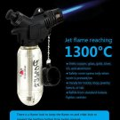 Windproof Refillable Jet Flame 1300-C Butane Cigarette Welding Torch Lighter BC2403