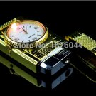 1PC new Genuine creativity watch lighter colorful light windproof metal lighter as gift E5056 B