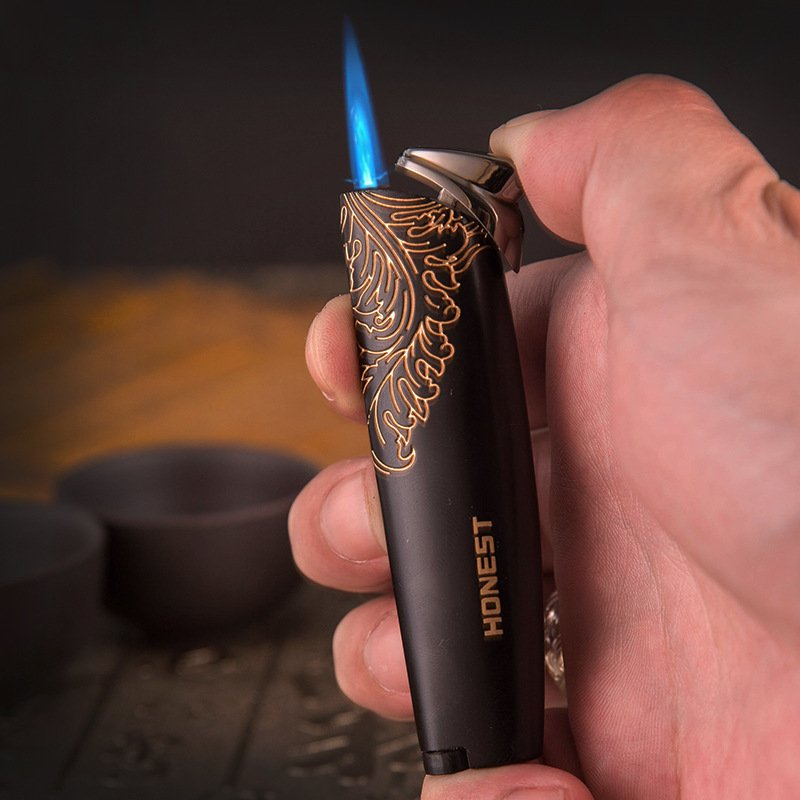Free shippying  honest Lighter authentic creative personality windproof cigar outdoor air BC2602
