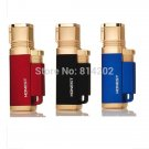 1pc Windproof Honest Lighter 4 Nozzles Jet Torch Flame Cigar Butane Lighter #22 BC2690