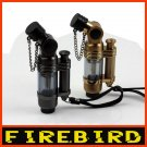 FIREBIRD 3.5'' Ergo Grip Cigarette Cigar Refillable butane Jet Torch Lighter BC2762