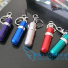 5pcs/lot MINI Colored Multifunctional FUEL oil pot KEYCHAIN light container for oil lighter Ou