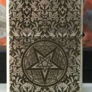 LSC  3pcs/lot  Ancient silver etched five sides Satan hymn ZPO lighter with logo box  BC2820