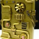 LW z05 Steam punk copper  army general gear hand-made kerosene oil  lighters BC2983