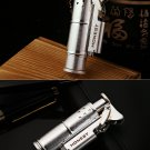 1pcs kerosene LIGHTER antique silver Oil metal lighters golden Creative windproof smoking acces
