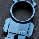 7*4*1.2CM  handmade 21EDC TC4Titanium devil ring Keychain lighters decorations BC3026