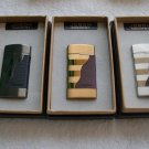 genuine boutique double plating leather windproof lighter BC3085