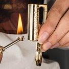 1pcs HONEST matches kerosene lighter encendedor key chain metal lighter Waterproof outdoor flin