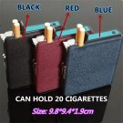 Leisure business chiefs cigarette case with lighter scrub gas windproof lighter wholesale BC3193