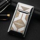 Honest  Metal windproof lighter business boutique gifts novelty cigarette butane torch  gadgets