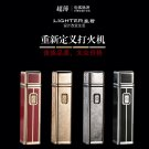 20167usb rechargeable electronic cigarette lighter creative metal arc windproof lighter gift ma
